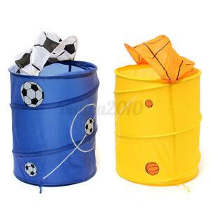 Foldable Large Washing Clothes Laundry Basket Bin Storage Bag Hamper USA  Ф f