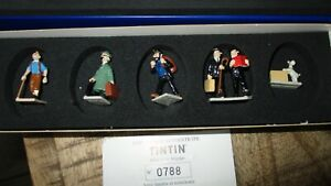 Hergé&Pixi-Figurines Tintin,Haddock,Dupond(t),Milou,Tournesol-Voyage-2001