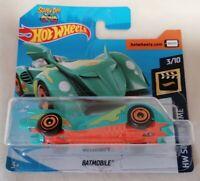 HOT WHEELS - *New & Sealed* Batman Scooby-Doo Batmobile 3/10 Short Card Mattel