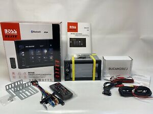 Boss BV755B Bluetooth DVD/CD/MP3 AM/FM Receiver + BUCAM200/J Back Up Camera