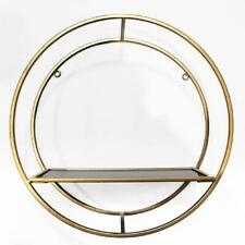 Luxury Gold Metal Shelf Arthouse Home Decor Modern