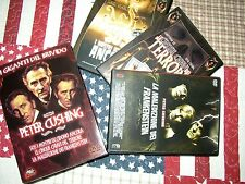 boxset 3 dvd - peter cushing - pulp video !!! come nuovo !