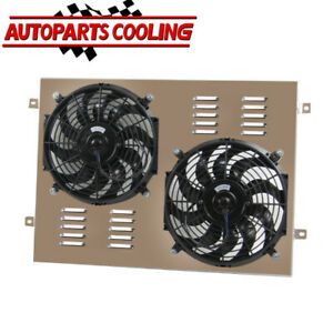 ALUMINUM SHROUD FAN FOR 1968-1979 75 78 Ford F-100 F-150 F-250/350 Bronco V8 AU