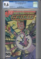 Crisis on Infinite Earths #4 CGC 9.6 1985 DC Comics Death of the Monitor