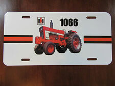 IH 1066 OPEN STATION Tractor License Plate