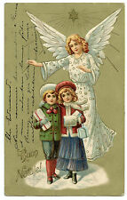 ANGE ENFANTS GAUFRé   ANGEL  CHILDREN  EMBOSSED.