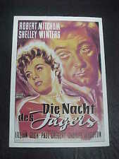 The Night Of The Hunter, film card [Robert Mitchum]