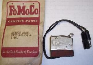 NOS 1961 Lincoln Conv Auto Window Drop Limit switch