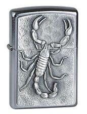 ZIPPO Benzin Feuerzeug Scorpion Emblem Skorpion Plakette 1330006 NEU OVP