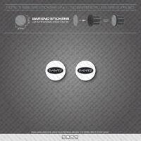 6028 - Dawes Bicycle Handlebar Bar End Plug Stickers - Decals