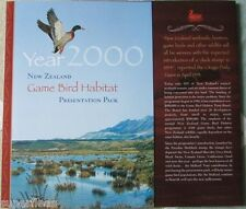 Year 2000 Limited Edition Game Bird Habitat set  MNH hand signed stamps