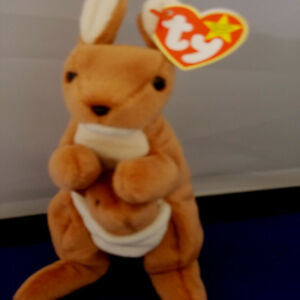 """POUCH ***TY BEANIE BABY*** Style 4161 approx 8"""""""