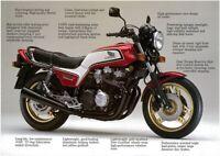 HONDA CB1100F VINTAGE MOTORCYCLE MOTORBIKE POSTER BROCHURE ADVERT A3