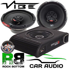 BMW Mini 2001-2006 Vibe 900 Watts Underseat Sub & Front Door Car Speaker Kit