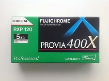 Fuji Provia 400X RXP 120 Rollfilm / Color Reversal Film Exp. Date 2017-7 NEW!
