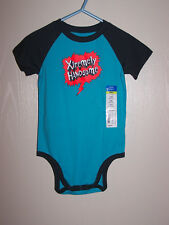 Okie Dokie Boys Short sleeve Bodysuit top Size 24M 24 Months Xtremely Handsome