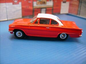Dinky Toys Ford Consul Capri Restored and re painted