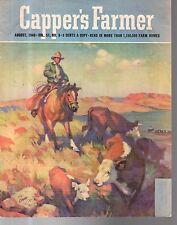 1940 Capper's Farmer August - Rounding up strays in Utah - H.E. Bryant
