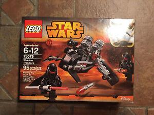 Lego Star Wars SHADOW TROOPERS 75079 Rebels Clone Wars Minifigs Stormtroopers