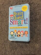 University Games Brain Quest Smart! Card Game - New/ Sealed in Tin -