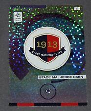 ECUSSON BADGE STADE MALHERBE CAEN FOOTBALL ADRENALYN CARD PANINI 2015-2016