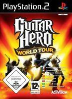 PS2 / Sony Playstation 2 Spiel - Guitar Hero: World Tour mit OVP
