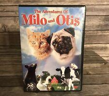 The Adventures of Milo and Otis DVD MOVIE CHILDREN FAMILY FULL SCREEN