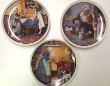 Norman Rockwell - Mother's Day Series Collector Plates - Lot of 3 plates Nib