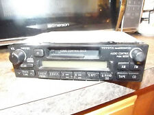 TOYOTA OEM AM/FM RADIO CASSETTE TAPE PLAYER / CD CONTROLLER