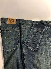 Men's Denim Shorts. Liberty. 7 Pockets Size:36 Distressed Look!! New