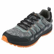 Northside Men's Cypress Trail Running Shoe, Black/Orange, 10.5 D(M) US