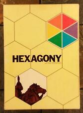 Hexagony: Oriental Strategy & Conquest Board Game by Avalon Hill Book Shelf 1980