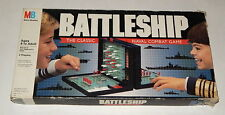 Vintage 1990 BATTLESHIP Classic Board Game Milton Bradley 100% COMPLETE IN BOX