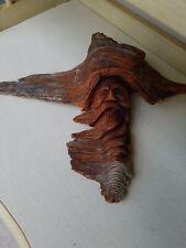 Wood Sculpture Hand Carved Spirit Figurine