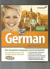 Cosmi Learn to Speak German Deluxe [NEW], CD, AUD