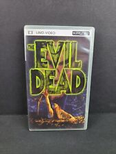 The Evil Dead (Sony PSP UMD Video, 2005) Horror Scary Cult Movie Bruce OOP RARE