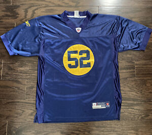 Clay Mathews #52 NFL Football Green Bay Acme Packers Jersey Mens Size 50 Blue