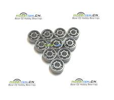 10pcs 3x10x4 Hybrid Ceramic Stainless  Lube Dry Fishing Reel Bearing Open type