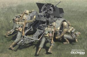 Hobby Boss: German 20mm Flak 38 early with waffen ss crews in 1:35 [3484418]