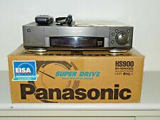 Panasonic nv-hs900 S-VHS Video recorder in OVP W. NUOVO. fb&bda, 2j. GARANZIA
