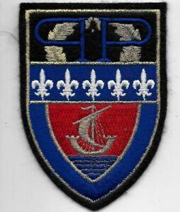 FRANKREICH Police Patch  PP  PREFECTURE  PARIS  Polizei Abzeichen France Insigne