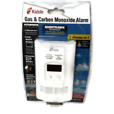 Kidde Gas & Carbon Monoxide Alarm 2 Alarms  Nighthawk Technology Model KN-COEG-3
