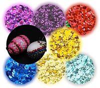 Lentejuelas alrededor de multicolor-Mix Holo 29mm pailette remolque plana Holo-efecto 50x