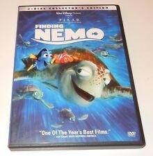 Finding Nemo (DVD, 2003, 1-Disc Collector's Edition) Full Screen Disney Pixar