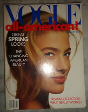 Vtg Vogue 2/1989 Cindy Crawford Carre Otis Guess ads Marc Jacobs Andy Warhol