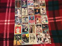 HALL OF FAME Baseball Card Lot 1980-2019 STAN MUSIAL TY COBB ICHIRO NOLAN RYAN +