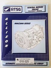ATSG ALLISON 1000/2000 Transmission Rebuild Instruction Tech Manual GM CHEVY