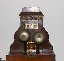 Antike dänische JYDSK Telefon aktieselskable Wand Telefon 1900s