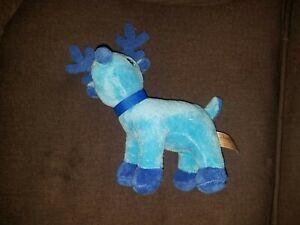 Dan Dee Blue Reindeer Plush