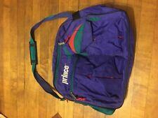 Prince Duffle Bag Tennis Bag Carry Bag Vintage Travel Shoulder Strap Purple